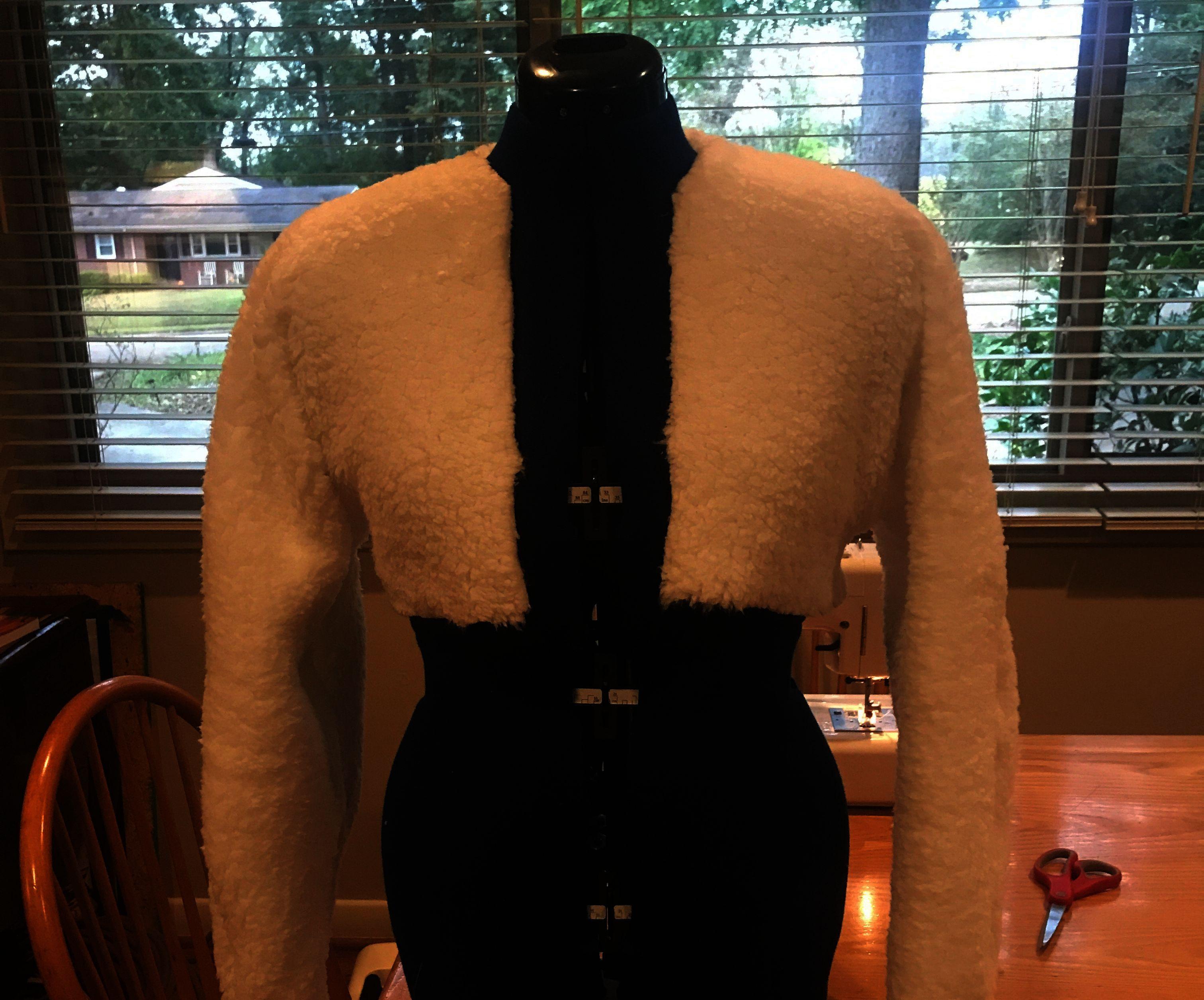 45 Minute Simple Fleece Jacket