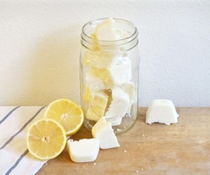 DIY Lemon Dishwasher Tablets