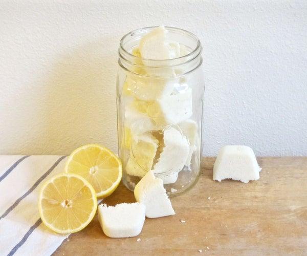 DIY Lemon Dishwasher Tablets