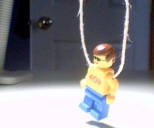 Lego Guy Necklace