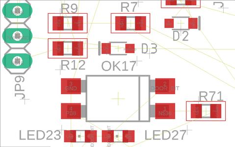 Step 5: Fix Silk Screen Labels