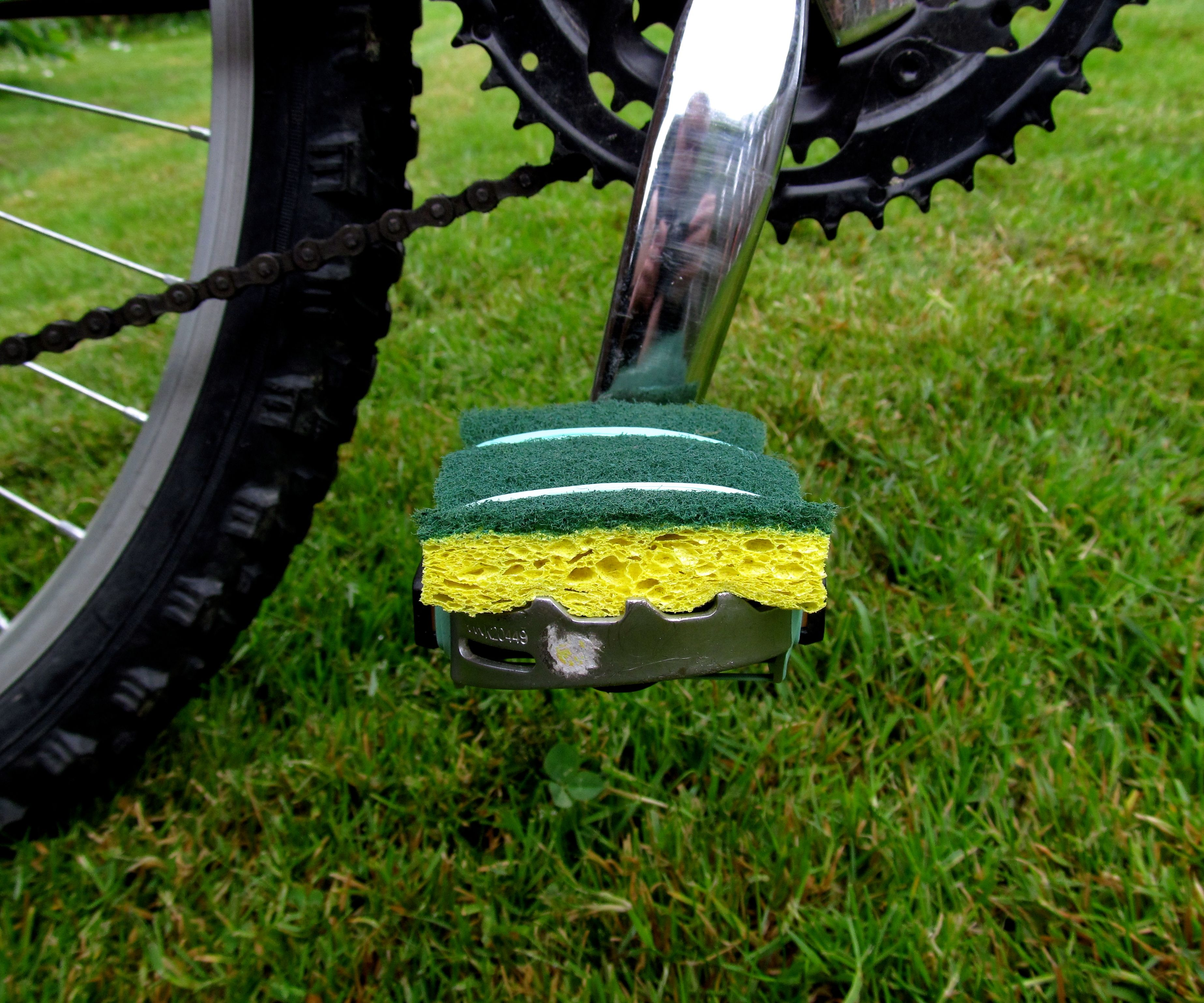 Barefoot Friendly Bike Pedals