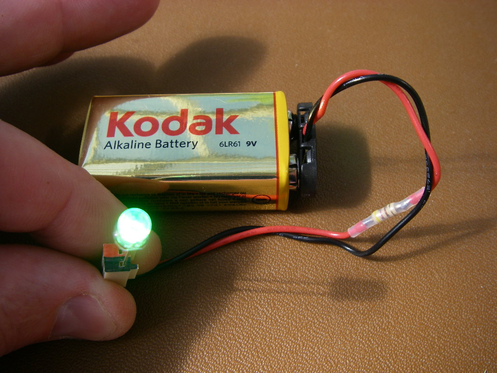 Make a simple LED tester.