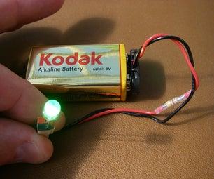 Make a Simple LED Tester.
