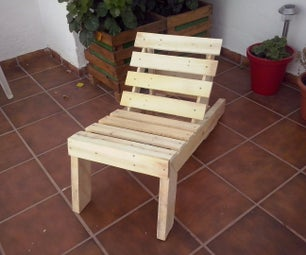 Pallet Wood Lounge Chair