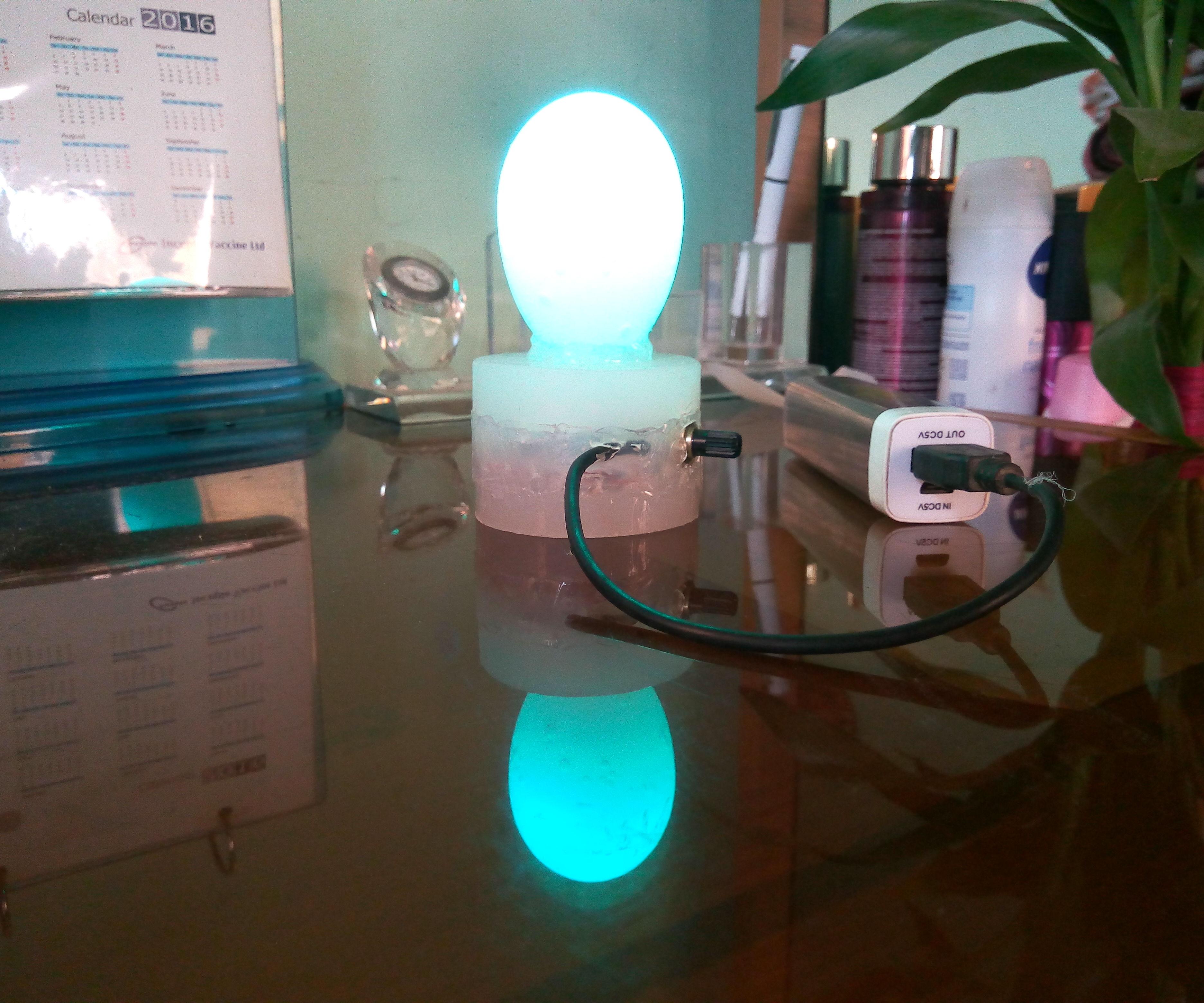 Multicolor Egg Lamp