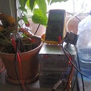Soil Moisture/humidity Control System With No Electrocorrosion Effects