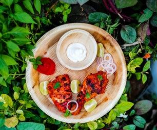 Grilled Tandoori Chicken ( It's a South Asia Punjabi Food )