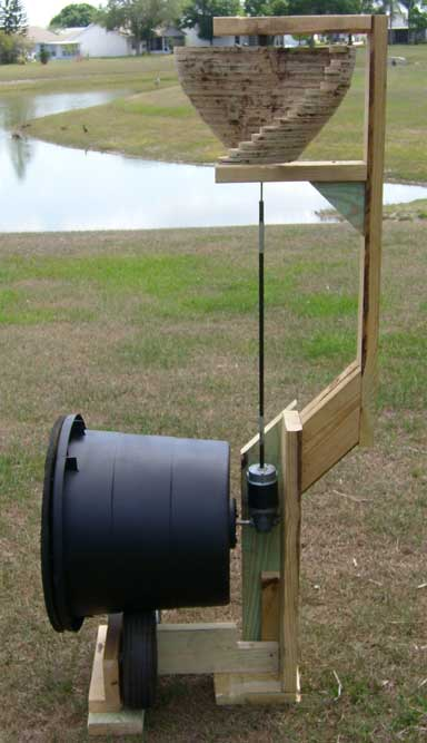 Wind powered Composter - The Green Twist , Exactly