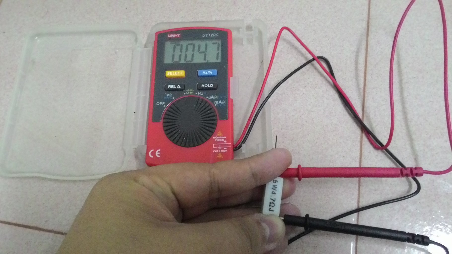 Double Confirm the Resistance of the Resistor