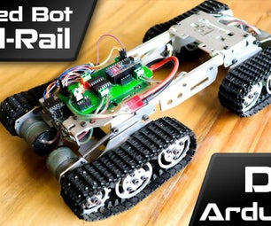 Arduino Tracked Robot Using HC12 Wireless Module