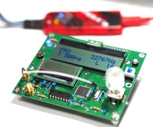 Frequency Counter With Waveform Display