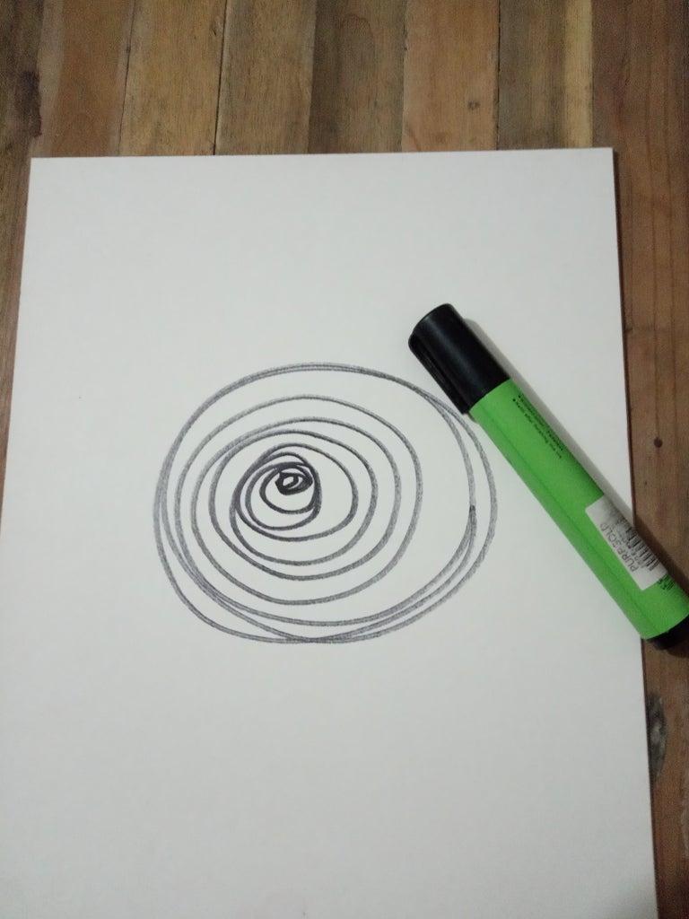 Make Continuous Small Circle Up to Big Circle