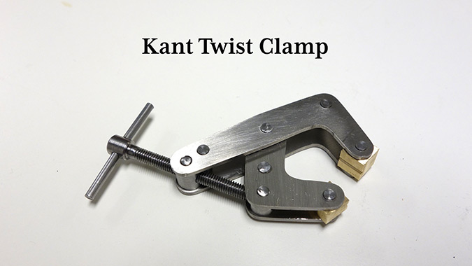 Making a Kant Twist Clamp