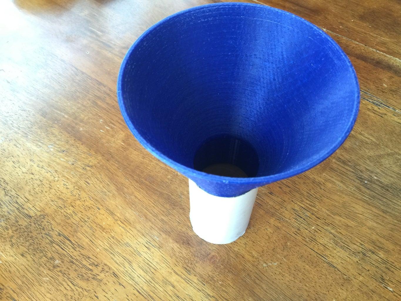 3D Printed Funnels for Rocket Motor Propellant Casting