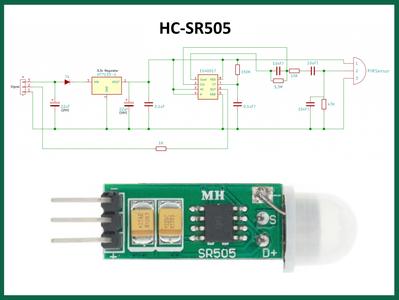 PIR Motion Sensing With HC-SR505 Module
