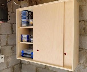 Sliding Door Storage Cabinet