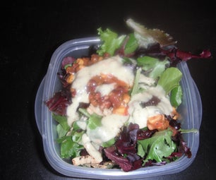 How to Make a Delicious Power Salad - I Made It at Techshop Detroit!