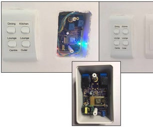Multi-purpose Room Lighting and Appliance Controller With Alexa Voice Control and Automatic Timer Functionality