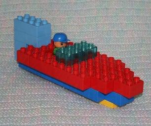 Duplo Raceboat Step-by-step