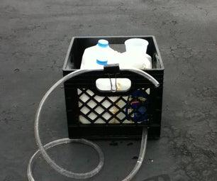 Milk Jug Rain Barrel
