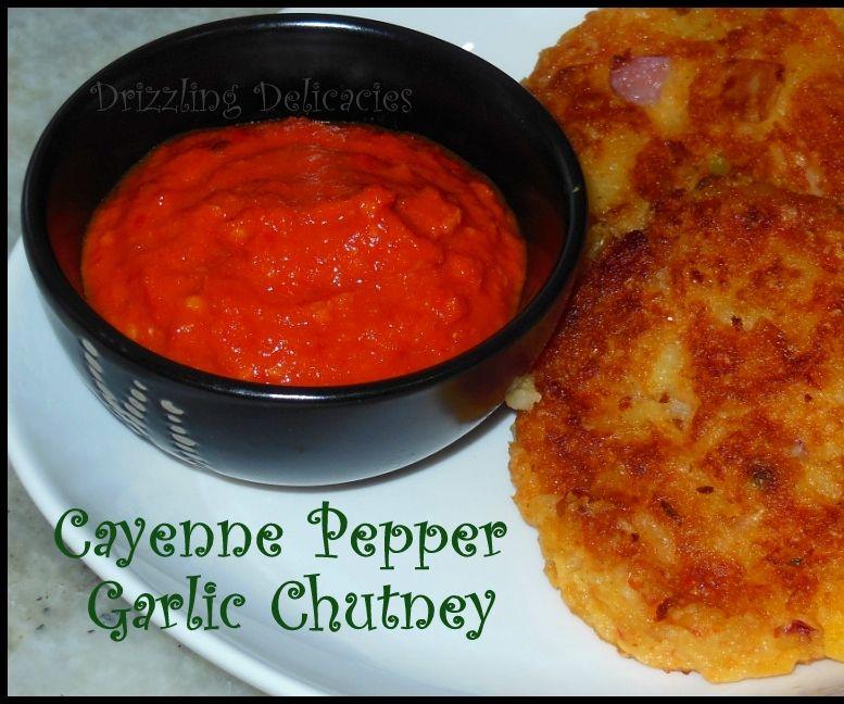 Cayenne Pepper Garlic Chutney