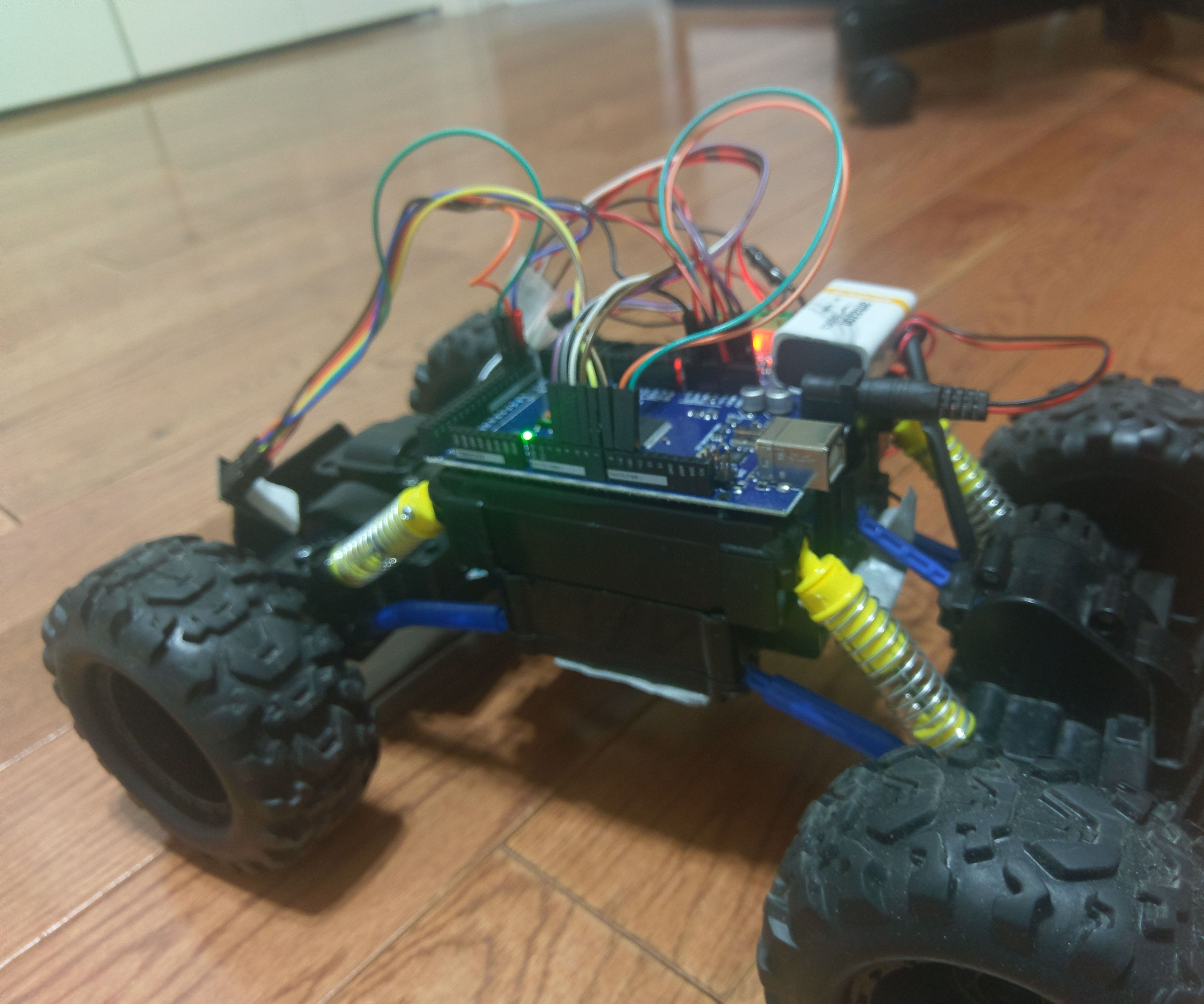 Robotics Remote Control Rock Crawler Arduino