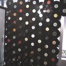 Vinyl Discs Curtain