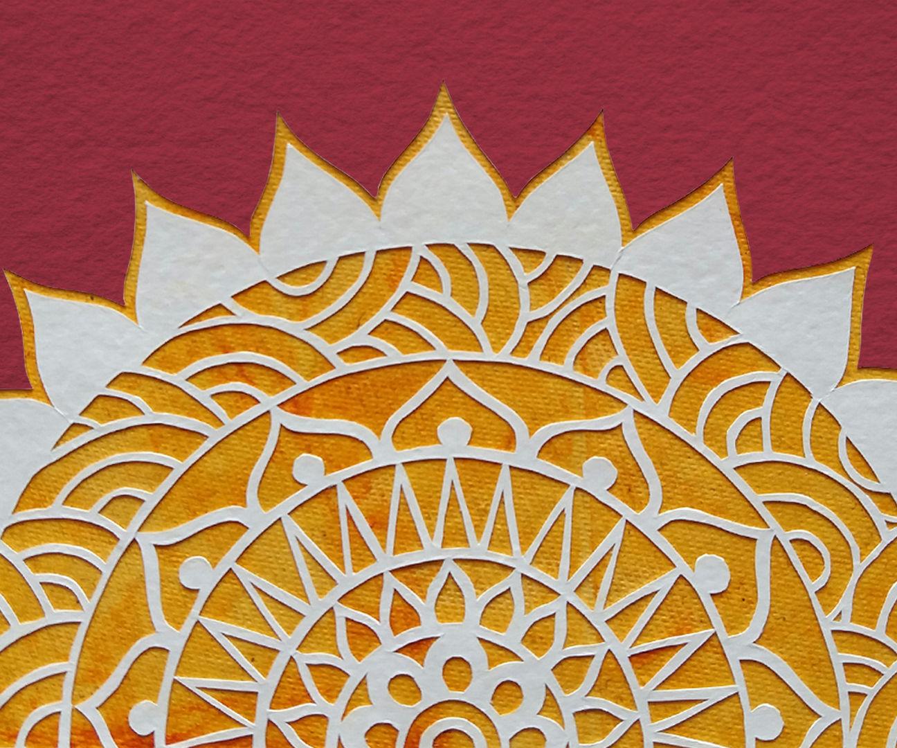 Paper Cutting Art: How To Cut Shapes | Mandala Art