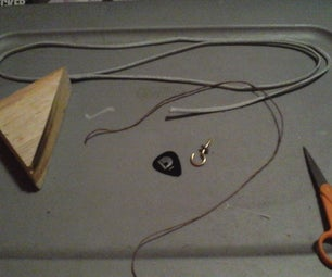 Guitar Pick Mod(Stop the Pick From Falling Into the Guitar)