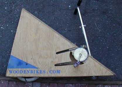 Wooden Wedge Bike