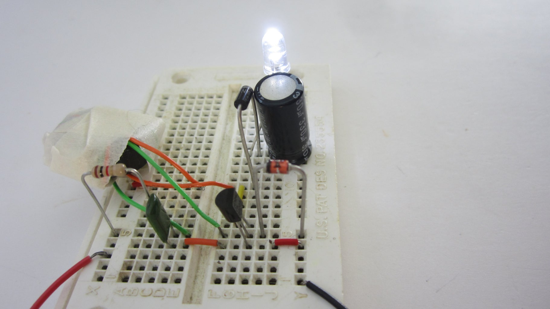 Prototype the The Circuit on a Breadboard