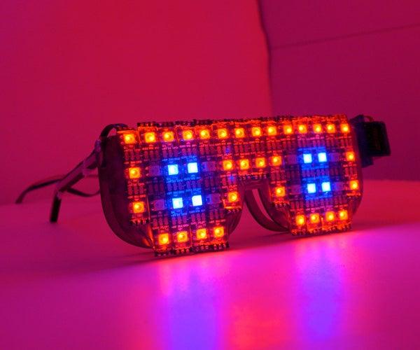 DIY RGB LED Goggles