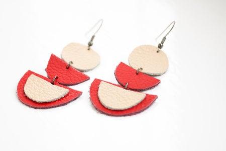 Geometric Earrings: Assembly
