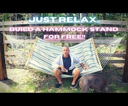 How to Build a Hammock Stand for Free
