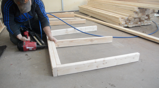 Build the 3 Foot High Side Walls