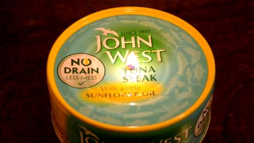 Cool Tuna Can Oil Candle - Emergency/Survival