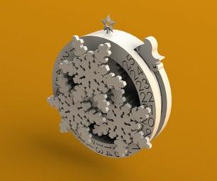 Countdown to Christmas Ornament