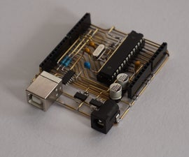 See-Through Arduino UNO