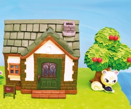 Sculpt an Animal Crossing House and Villager