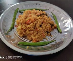 """Easy to Make -""""Yummy Veggie Rice"""""""