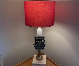 Beer Pump Lamp