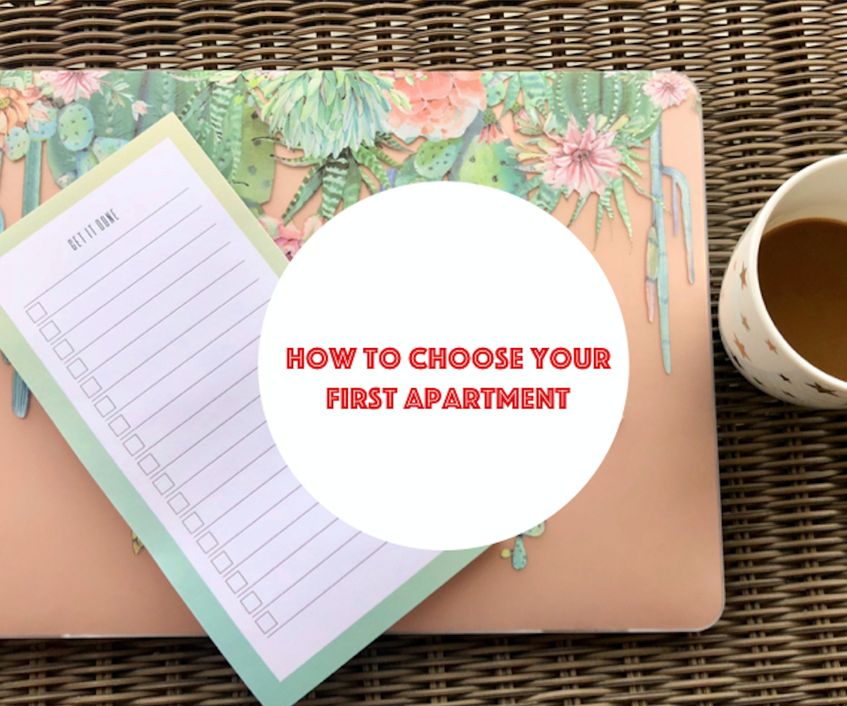 How to Choose Your First Apartment