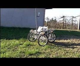 RTK GPS Driven Mower