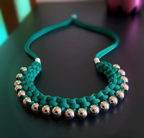 Woven Ethnic Necklace