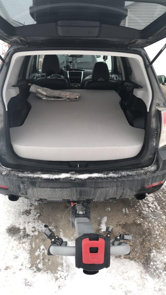 Subaru Forester (2009-2013): Polyurethane Foam Mattress