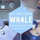 Cornflower WHALE - Epoxy - Video Tutorial