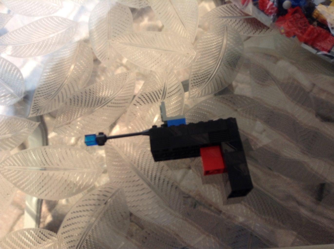 Lego Transformer Optimus Prime Path Blaster Weapon