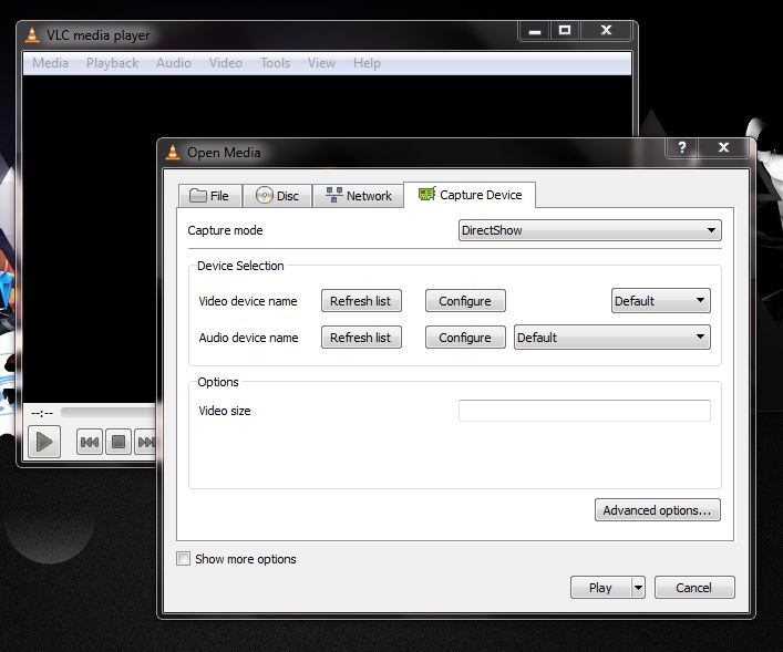 How to capture/record desktop video using VLC media player.