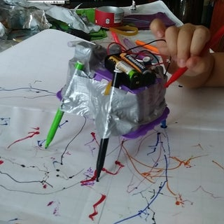 Make a Scribbling Machine